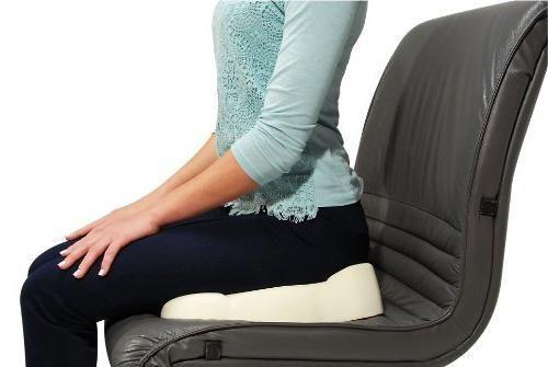 Сидение на ортопедической подушке