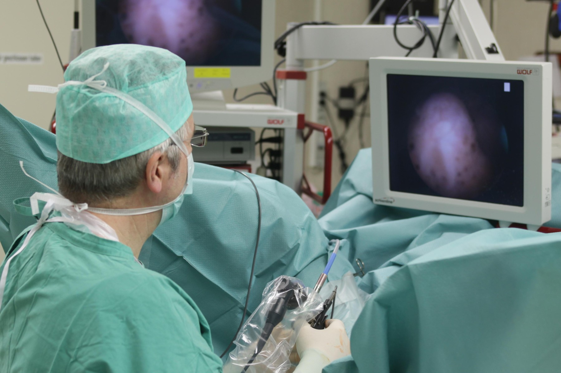 Выполнение операции на простате