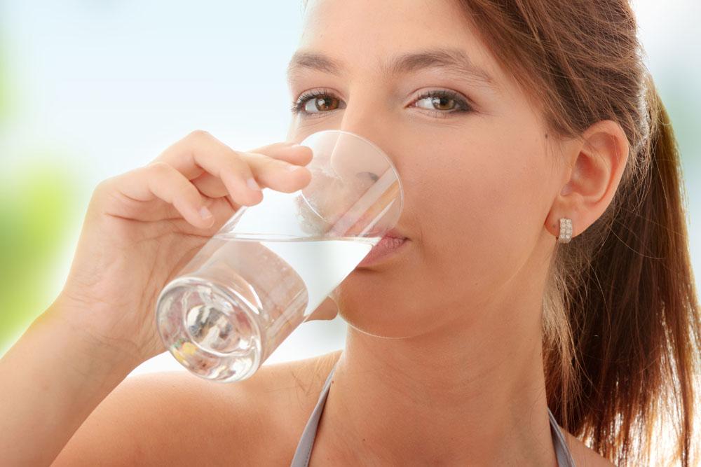 Больше пить чистой воды