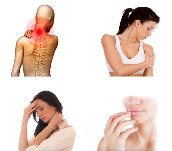 Боль при шейном остеохондрозе