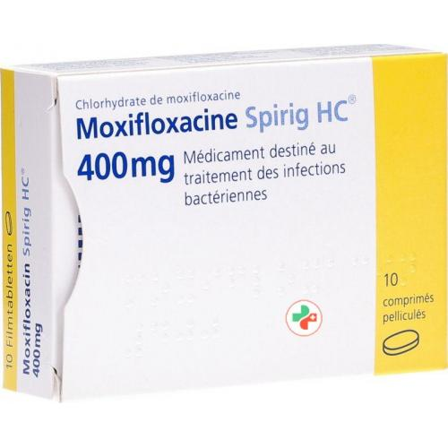 Препарата Моксифлоксацин