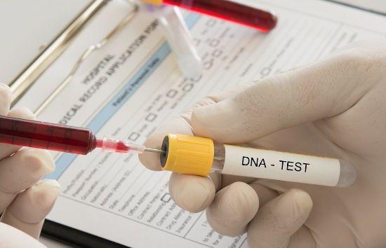 Кровь на ДНК-тест