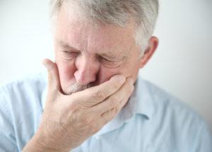 Расстройство пищеварения с тошнотой или рвотой