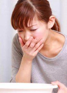 Тошнота при передозировке