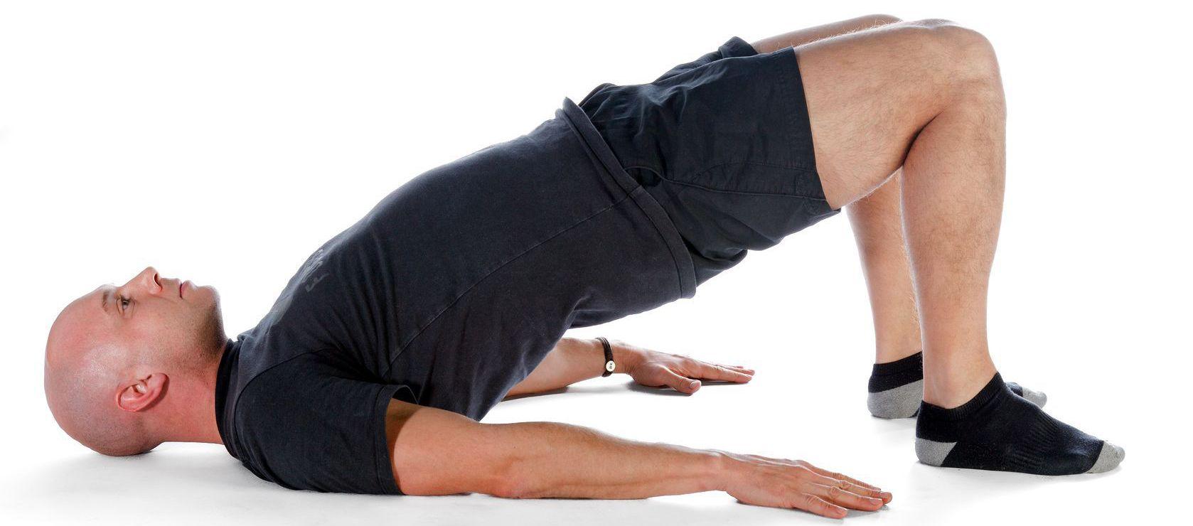 Напряжение мышц таза