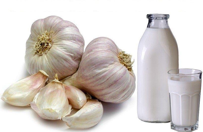 Молочно-чесночный отвар