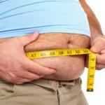 Общее увеличение массы тела