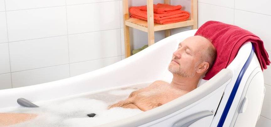 Общеукрепляющие свойства горячей ванны