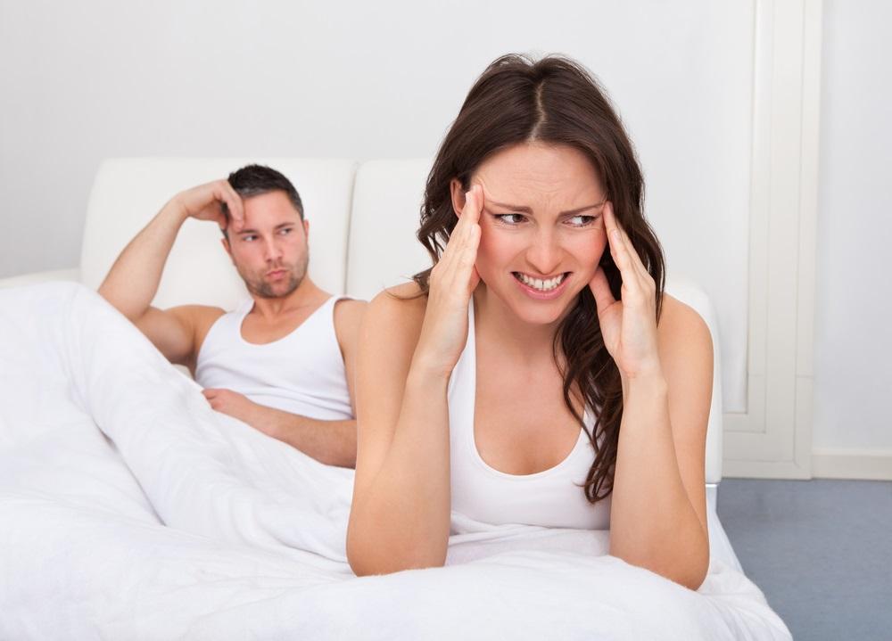 Тревожные ощущения перед сексом