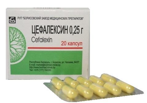 Цефалексин капсулы