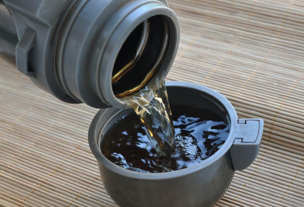 Можно готовить чай в термосе