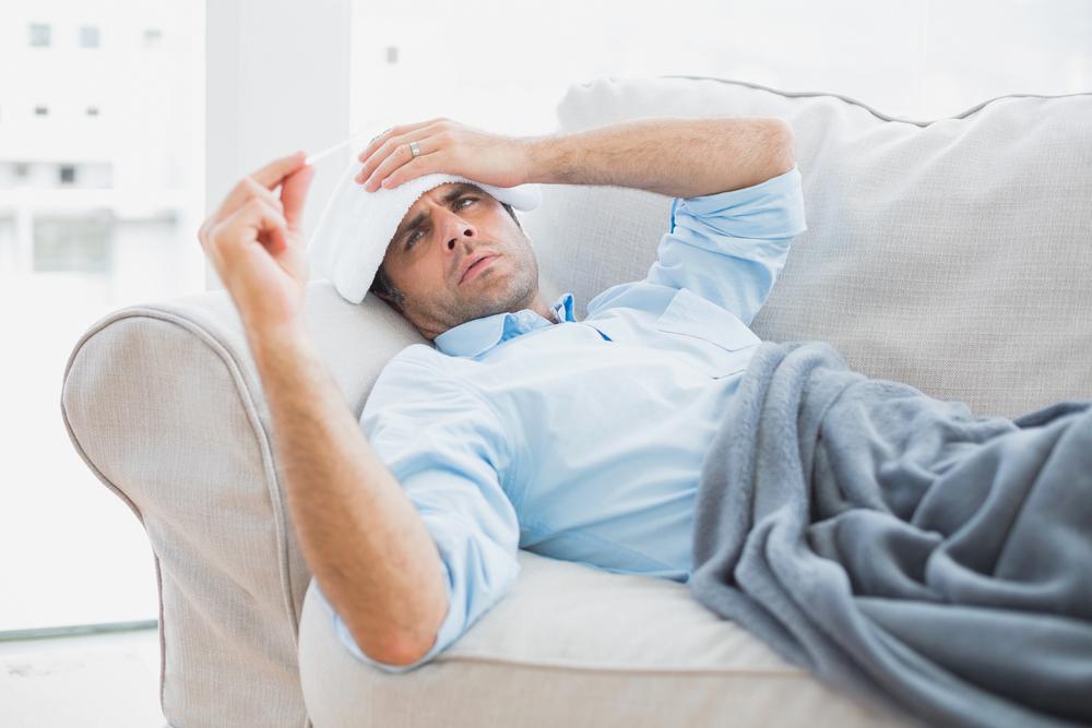 Цистит у мужчины часто протекает с повышением общей температуры тела