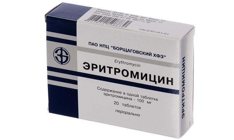 Эритромицин инструкция по применению