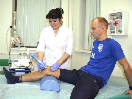 Физиолечение колена