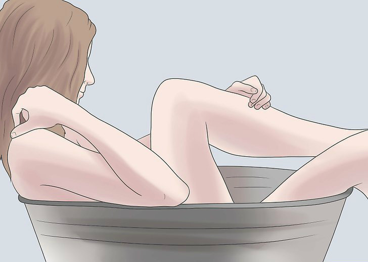 Разрешают процедуру в сидячей ванне