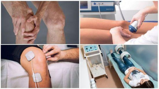 Физиотерапия для коленных суставов