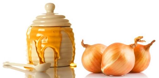 Луковая шелуха и мед