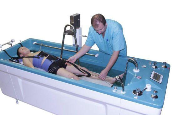 Вытяжение позвоночника в воде