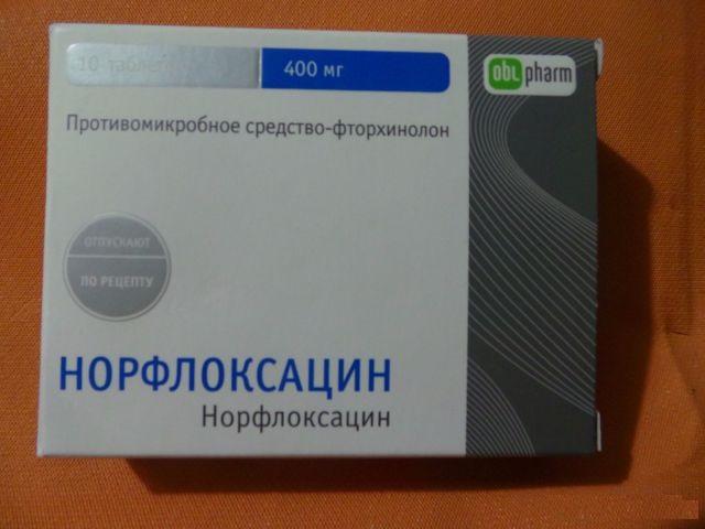 Норфлоксацин фармакология