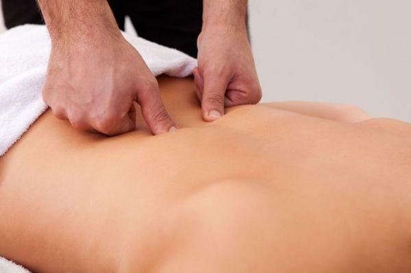 Точечный массаж седалищного нерва