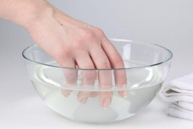 Солевая ванночка для рук
